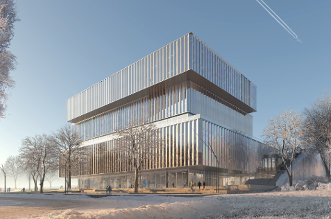 SOLVAY<br><br>Global Research Building, restructuration du site, création d